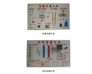 温度、湿度、流量、压力、测量仪表示教板