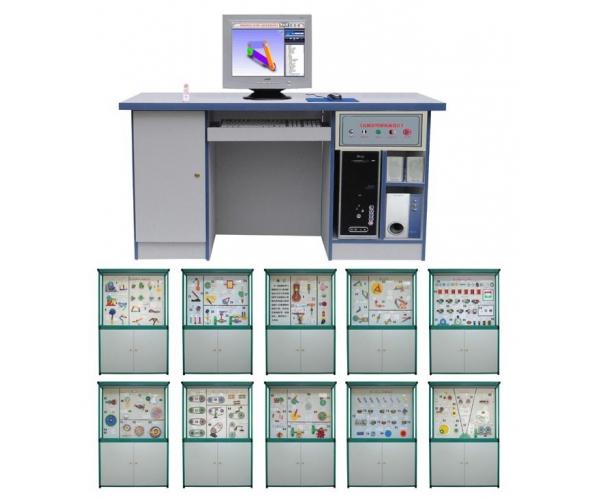 机械原理与机械设计陈列柜