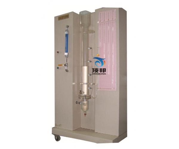 鼓泡反应器中气泡表面积及气含量测定实验装置