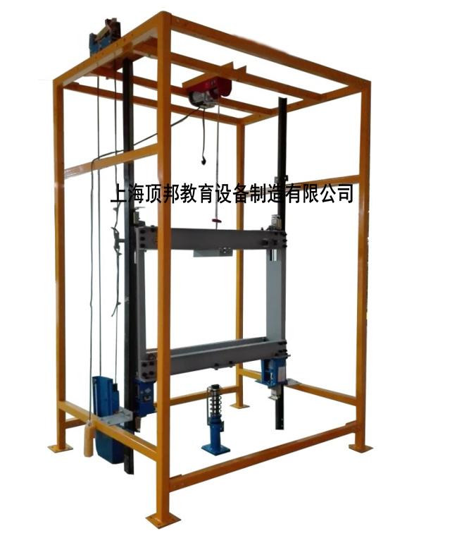 电梯限速器安全钳联动机构实训考核装置