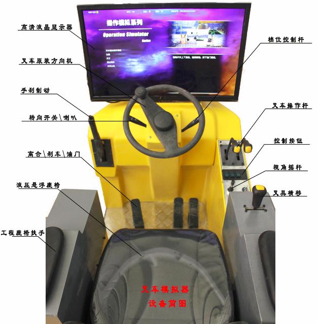 装载机叉车操作模拟器